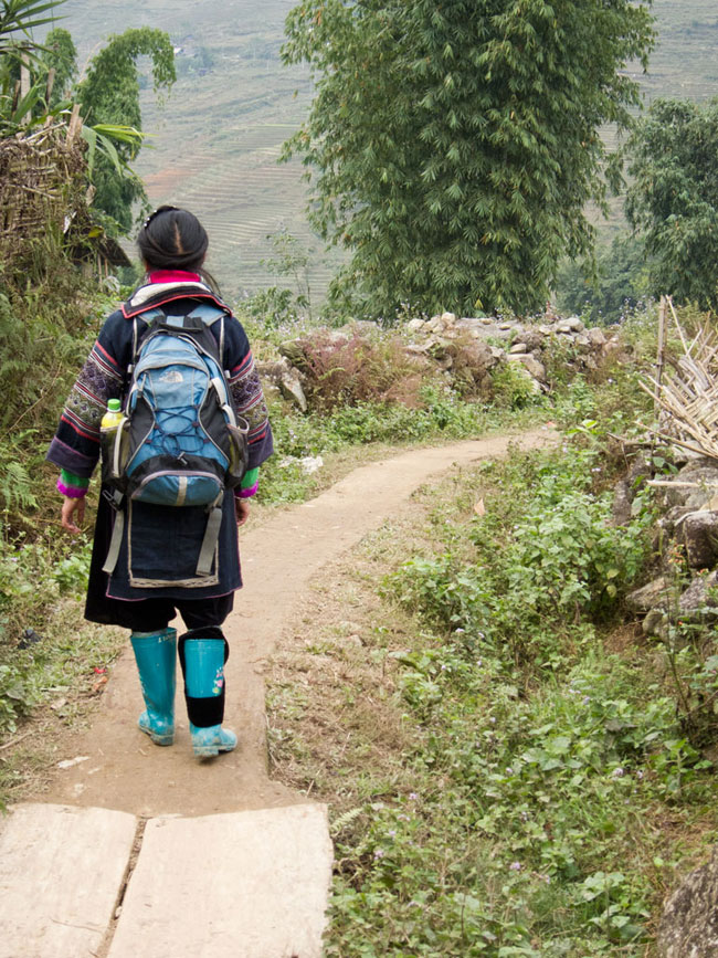 Sapa Wanderung mit May – Auf Reisen gehen | SOMEWHERE ELSE