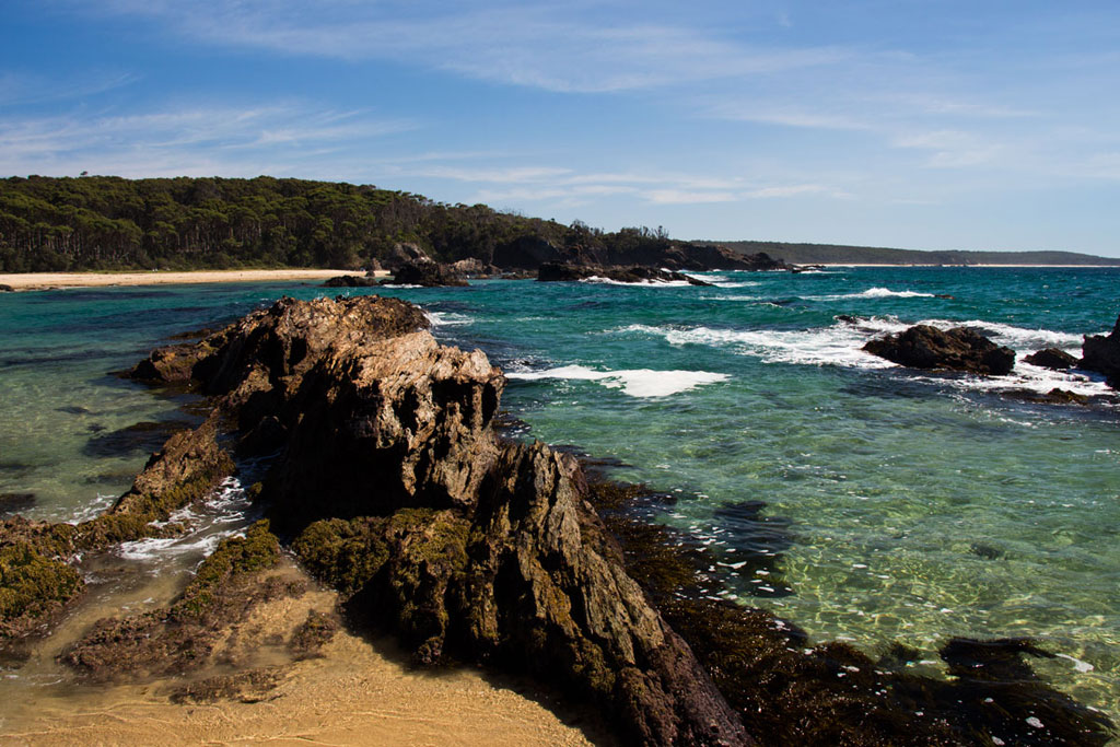 Camping Roadtrip durch Australien – Strand Mystery Bay | SOMEWHERE ELSE