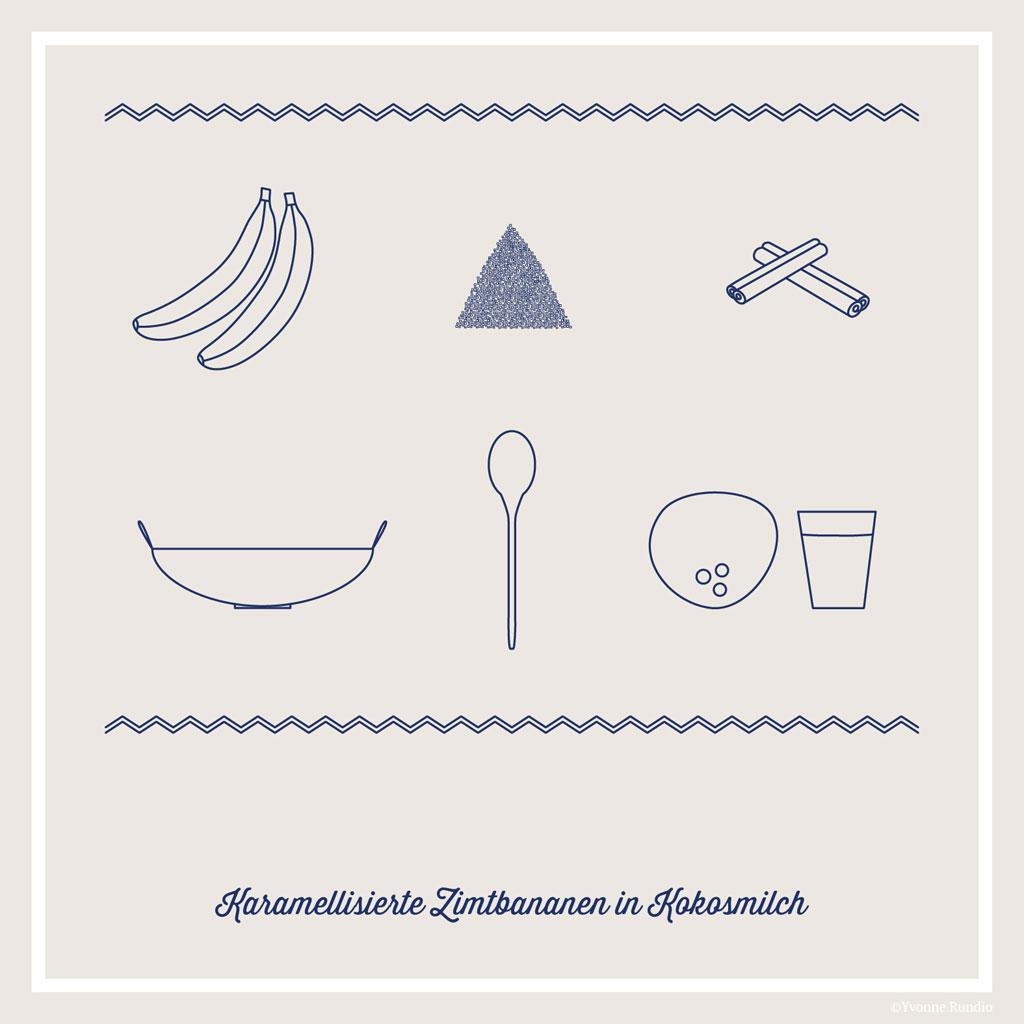 Palawan Camping Rezept karamelisierte Bananen – Philippinische Kueche | SOMEWHERE ELSE