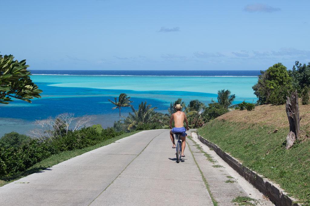 Fahrradtour auf Maupiti – Weltreise zu zweit | SOMEWHERE ELSE