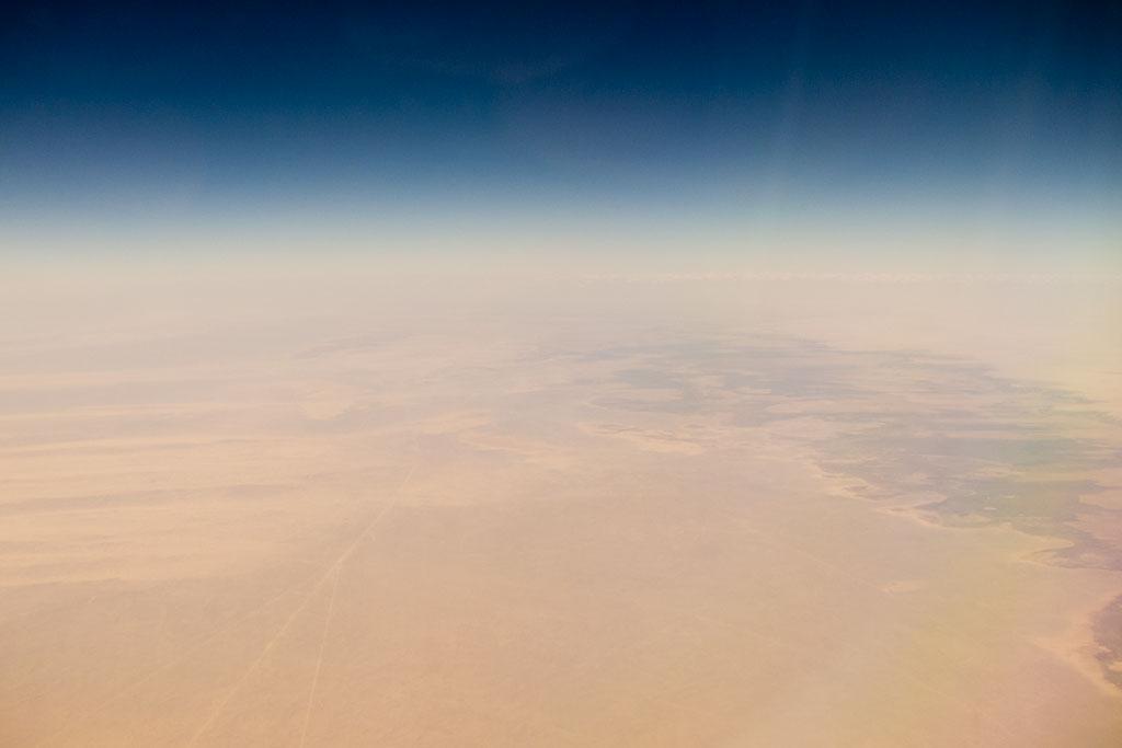 Luftaufnahme aus Flugzeug – Weltreise zu zweit | SOMEWHERE ELSE