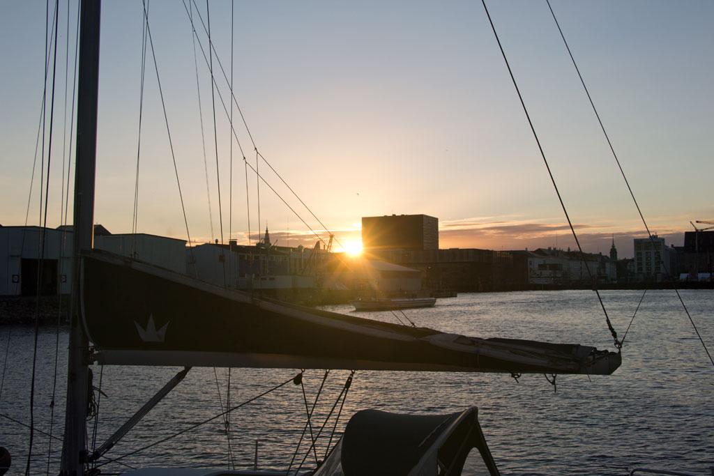 Kopenhagen entdecken – Sonnenuntergang auf Papiroen | SOMEWHERE ELSE