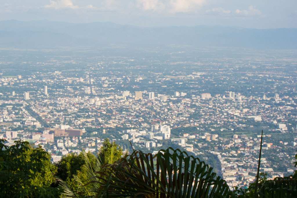 Erste Thailand Route – Aussicht auf Chiang Mai | SOMEWHERE ELSE