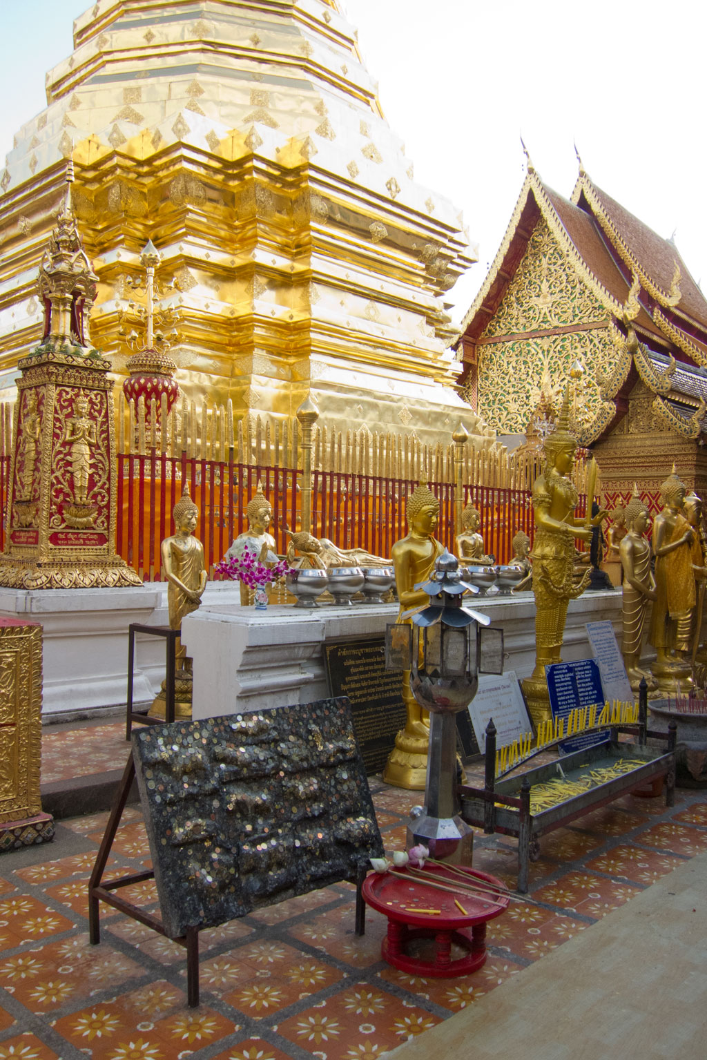 Erste Thailand Route – Wat Phra That Suthep in Chiang Mai | SOMEWHERE ELSE
