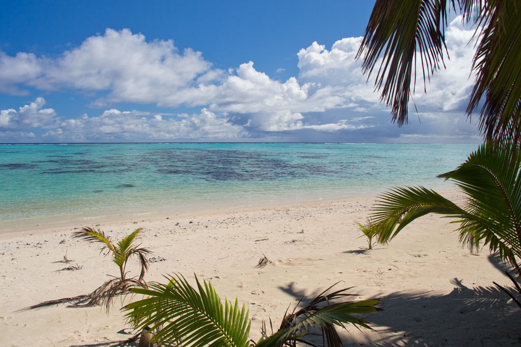 Cook Inseln Aitutaki – Meerblick am Strand | SOMEWHERE ELSE