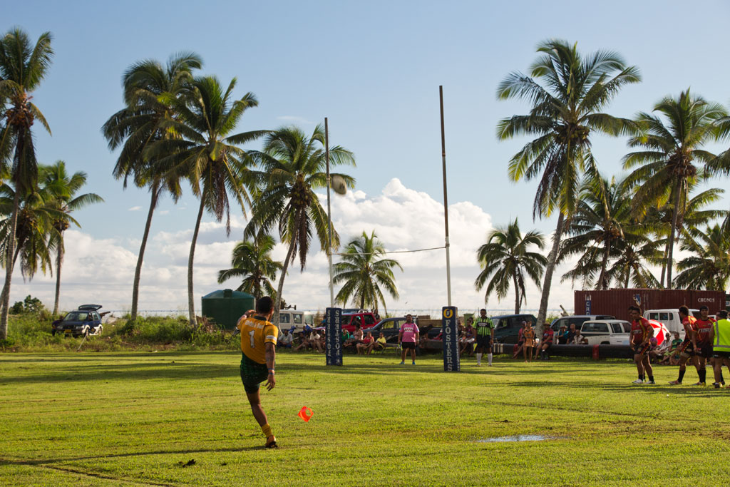 Cook Inseln Aitutaki – Rugbyspiel | SOMEWHERE ELSE