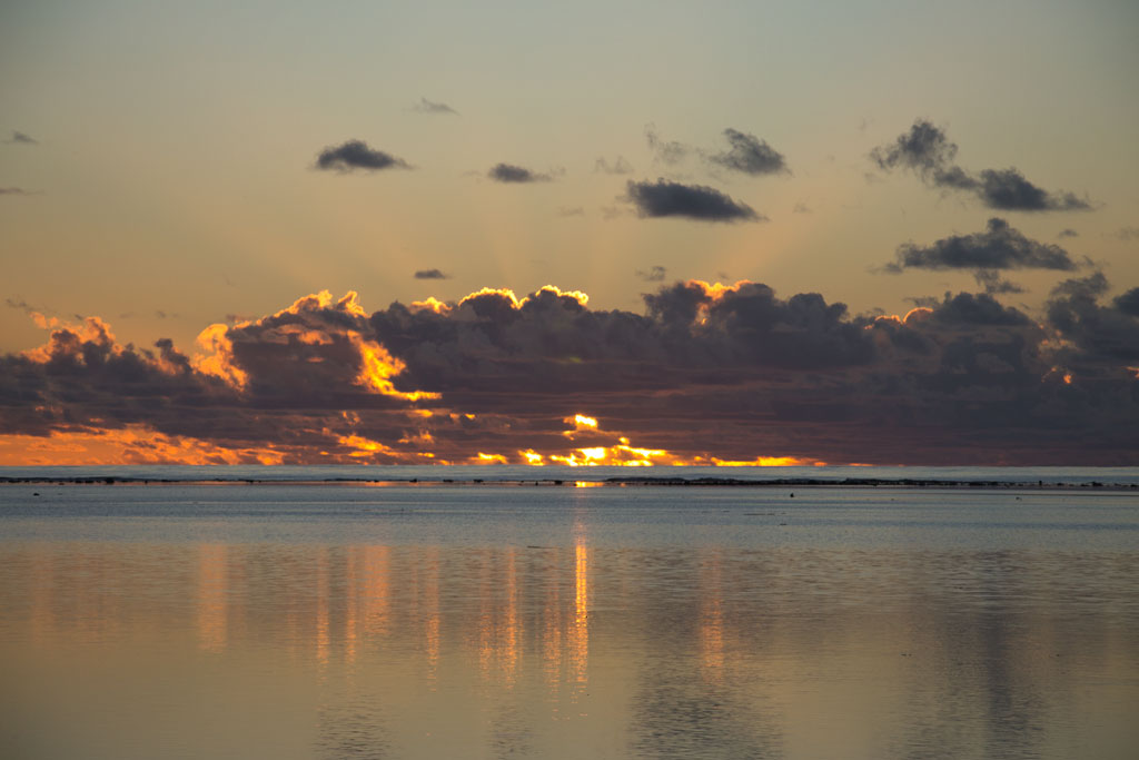 Cook Inseln Aitutaki – Sonnenuntergang | SOMEWHERE ELSE