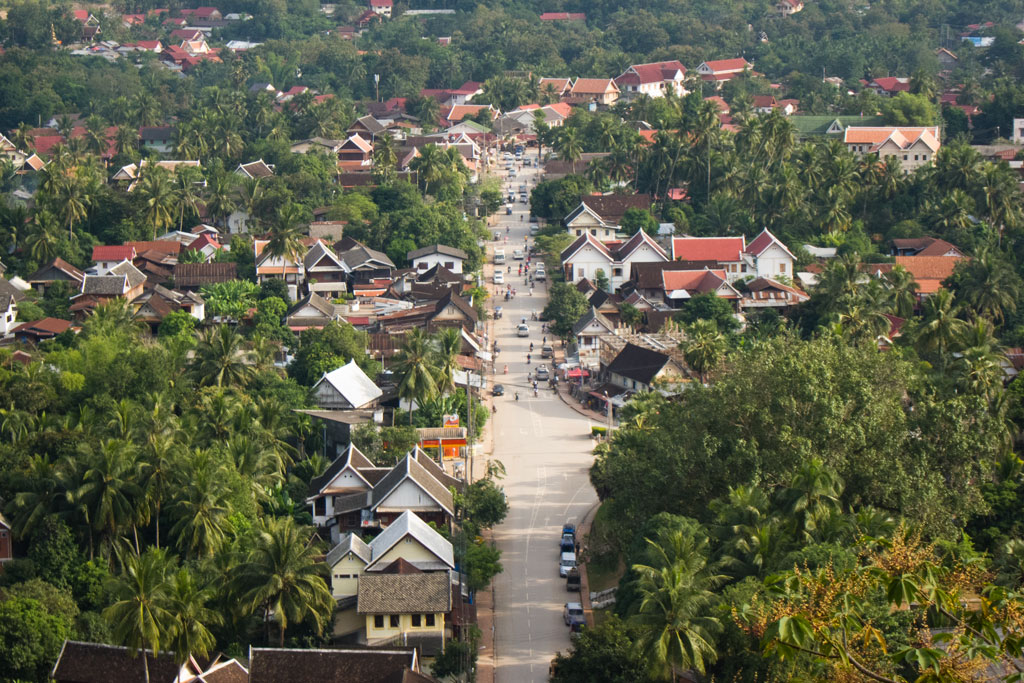 Luang Prabang – Aussicht vom Berg That Phou Si | SOMEWHERE ELSE