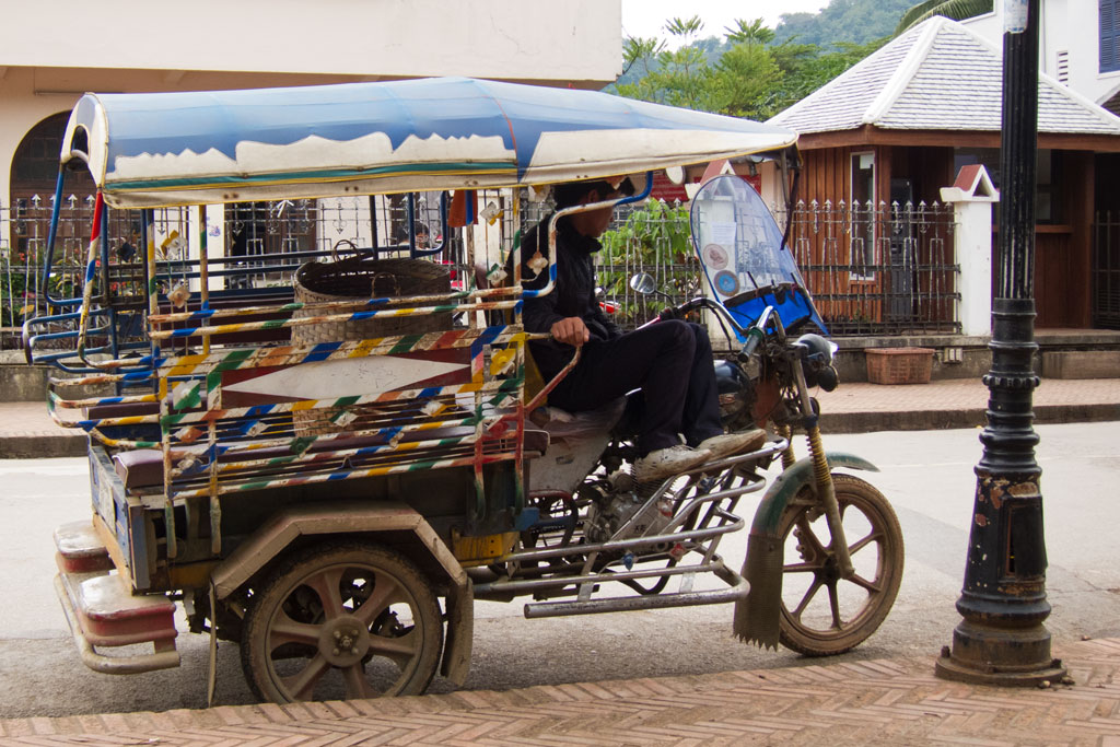 Luang Prabang – Tricycle | SOMEWHERE ELSE