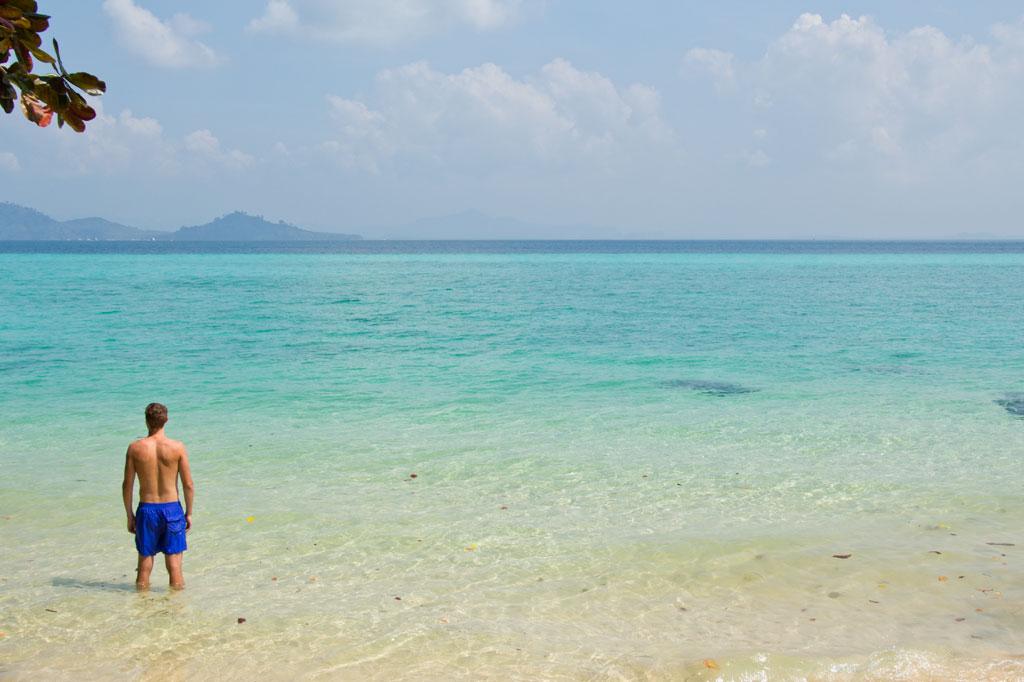 Farbverlauf der Lagune auf Ko Kradan – Thailändische Inseln | SOMEWHERE ELSE