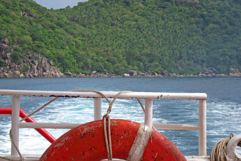 Auf dem Boot vor Ko Tao – Thailändische Inseln | SOMEWHERE ELSE