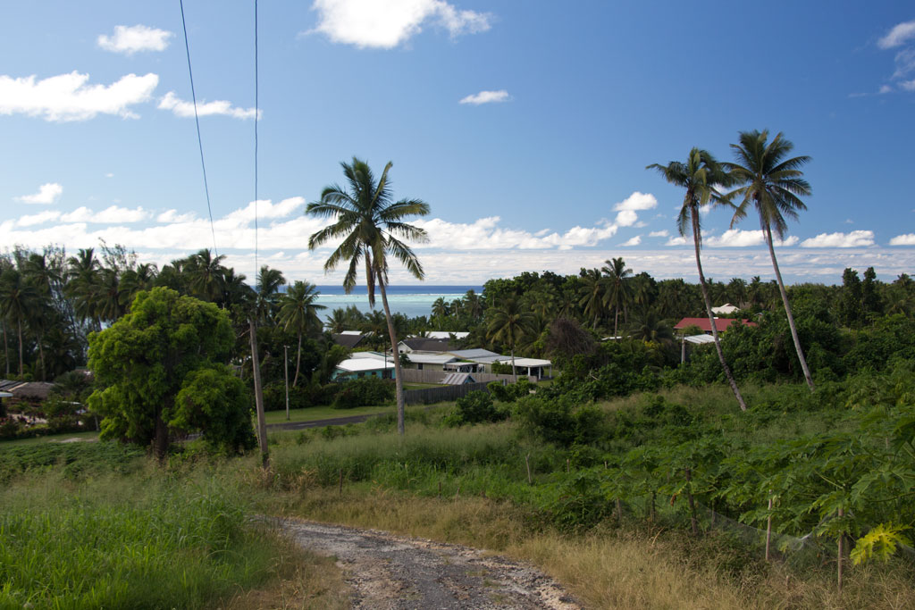 Aitutaki Lagoon Cruise – Ausblick vom Maungapu   SOMEWHERE ELSE