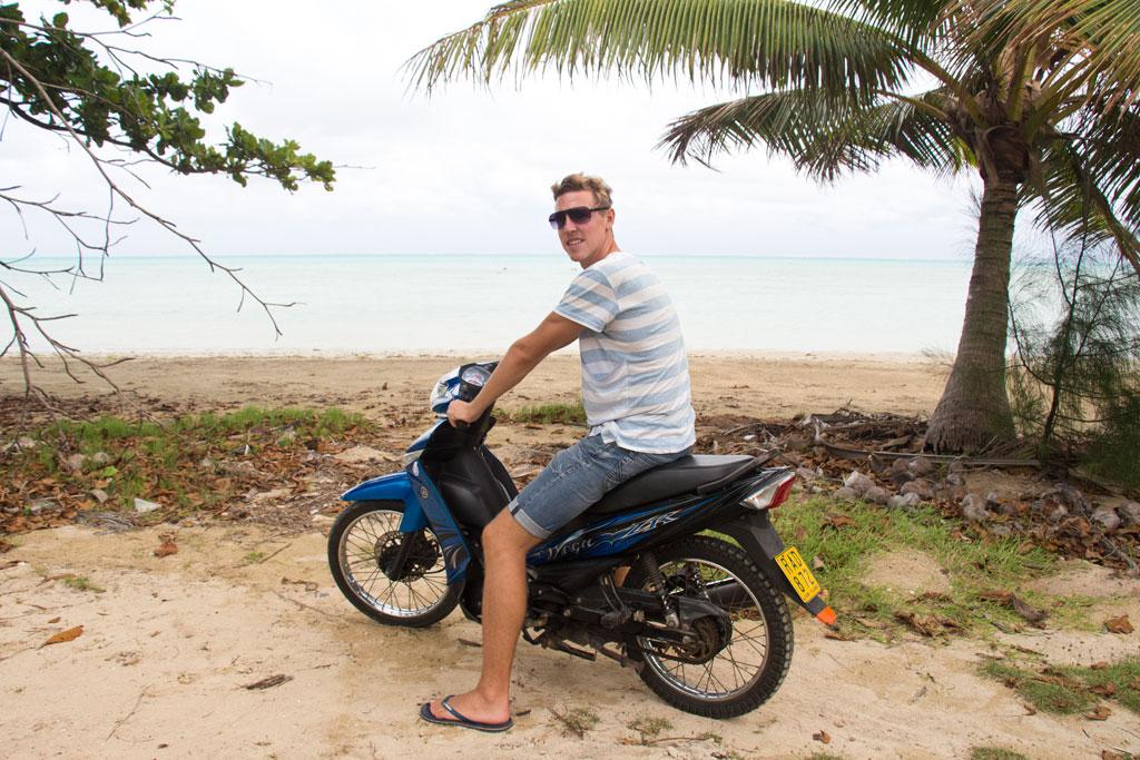Aitutaki Lagoon Cruise – Inselrundfahrt mit dem Motorroller | SOMEWHERE ELSE