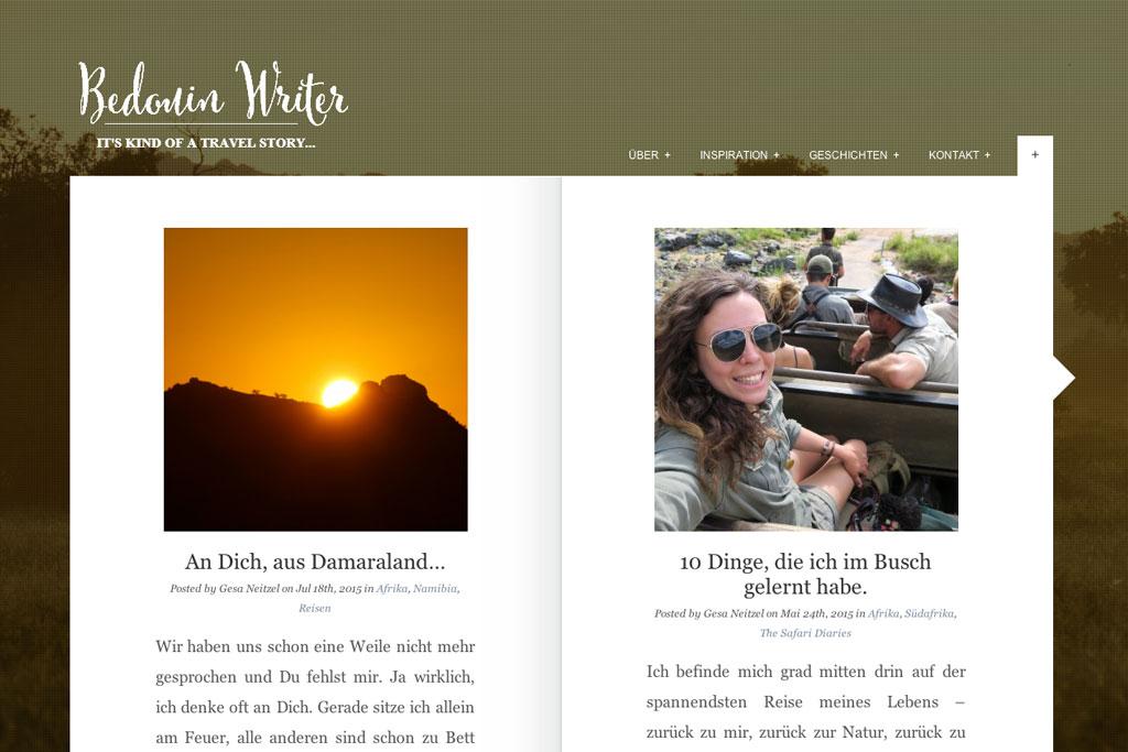 Inspirierende Reiseblogs – Bedouin Writer   SOMEWHERE ELSE