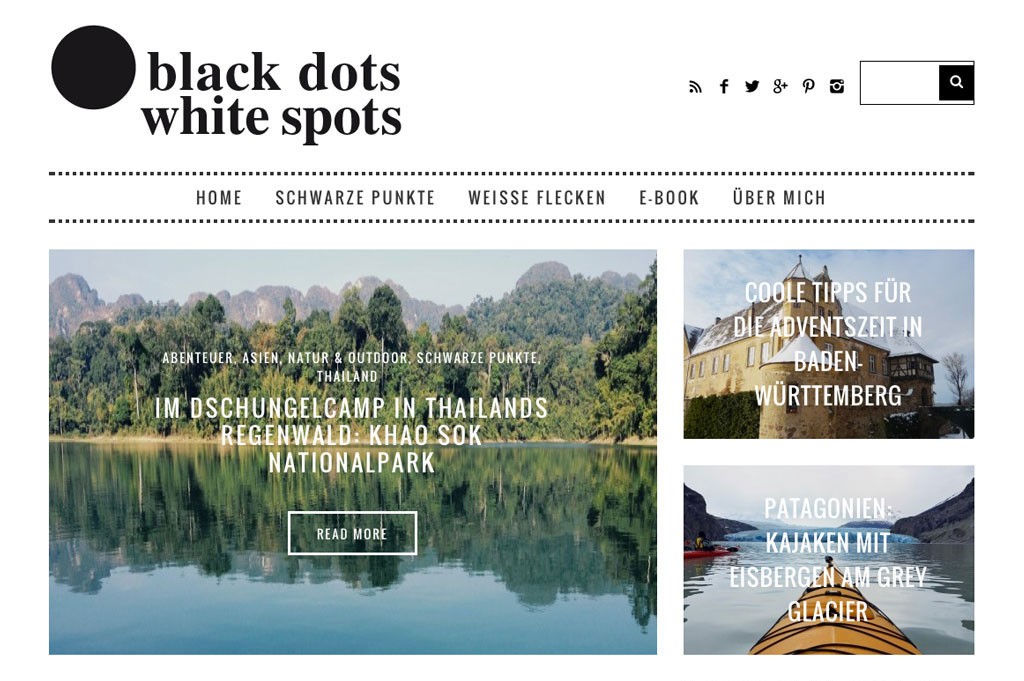 Inspirierende Reiseblogs – Black Dots White Spots | SOMEWHERE ELSE