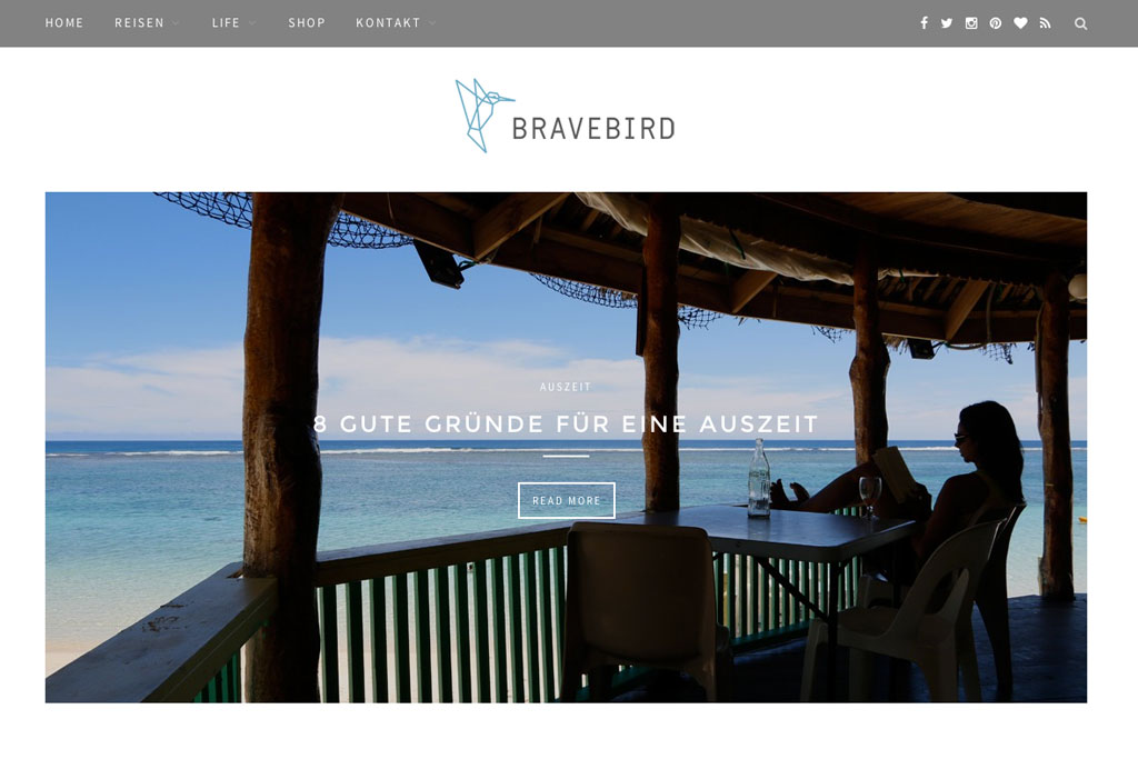 Inspirierende Reiseblogs – Bravebird   SOMEWHERE ELSE