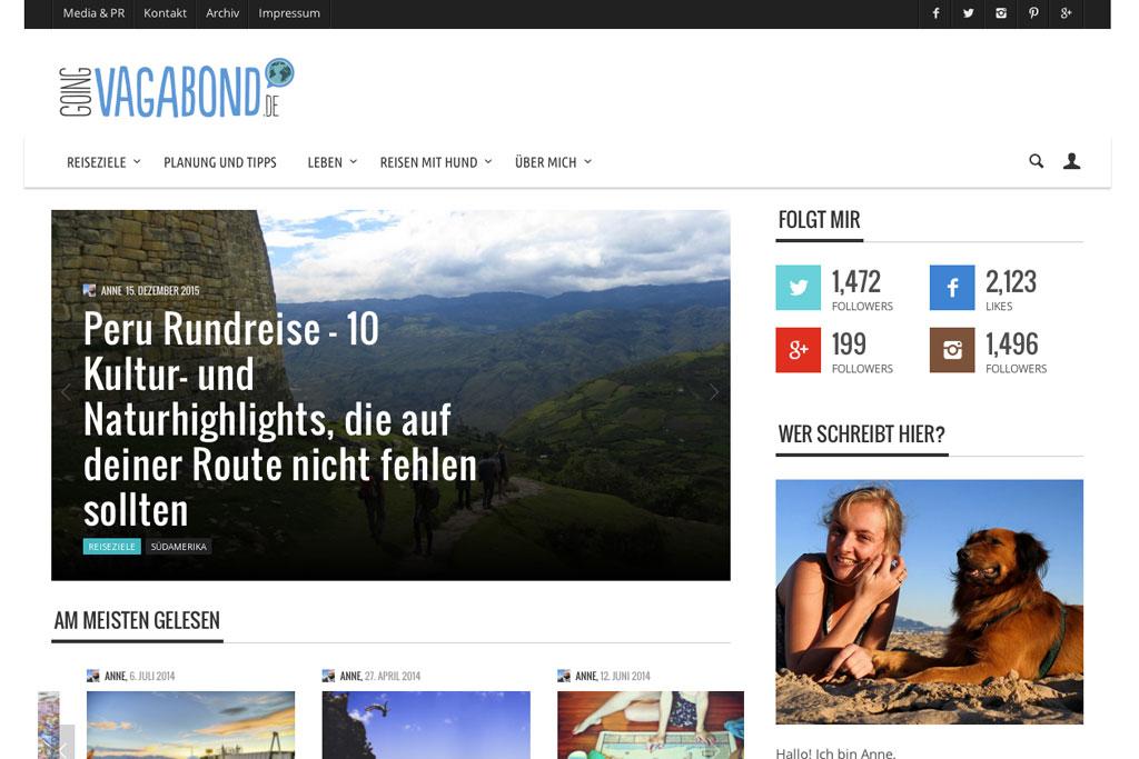 Inspirierende Reiseblogs – Going Vagabond   SOMEWHERE ELSE