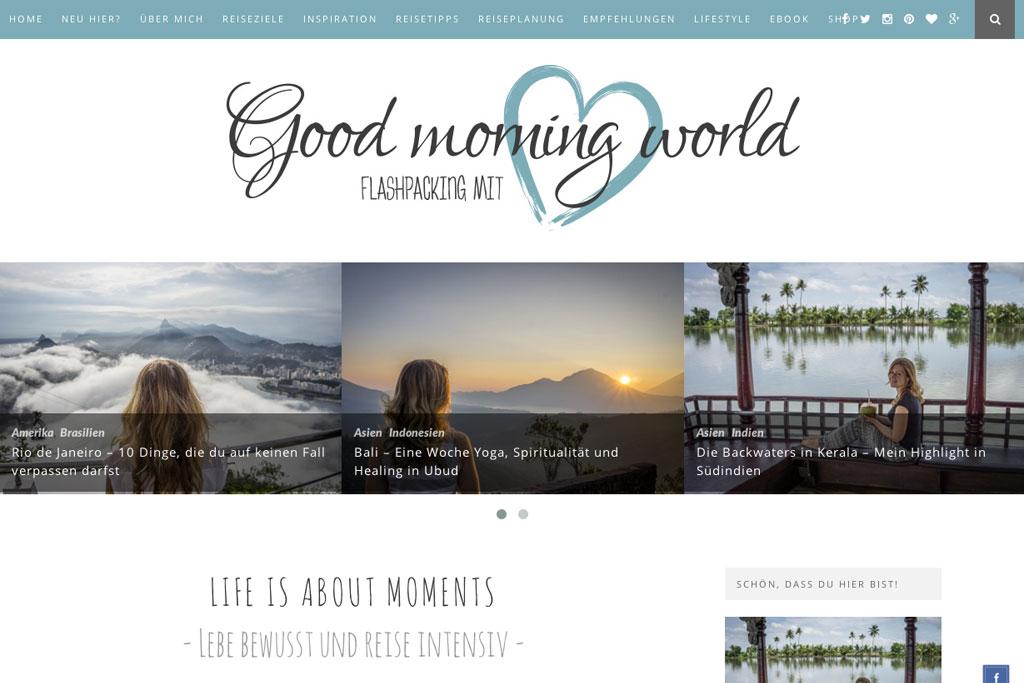 Inspirierende Reiseblogs – Good Morning World   SOMEWHERE ELSE