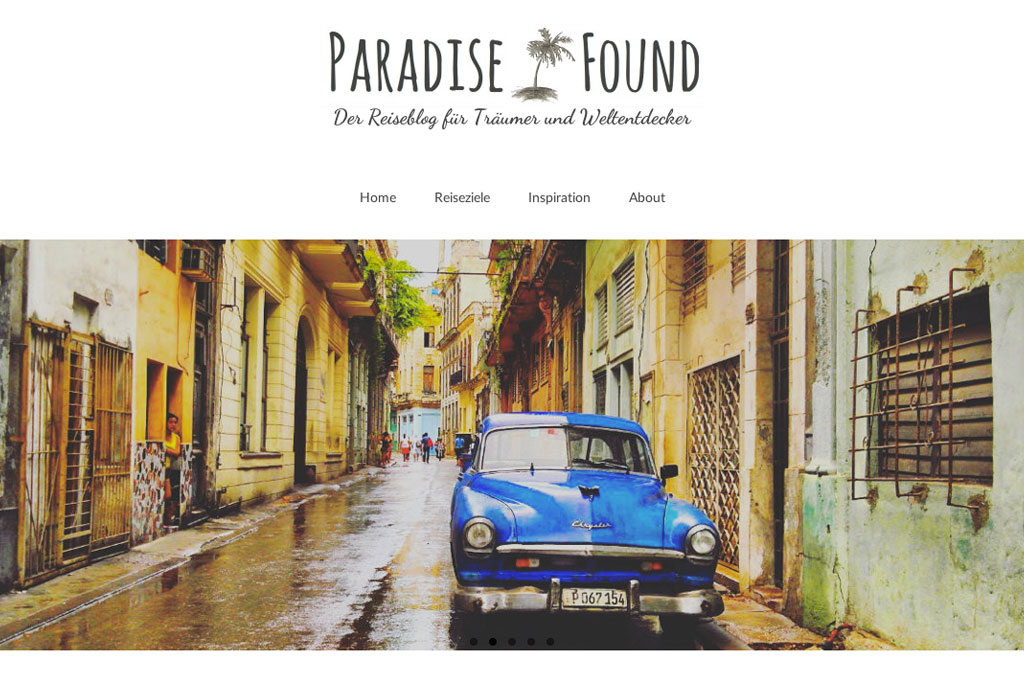 Inspirierende Reiseblogs – Paradise Found | SOMEWHERE ELSE