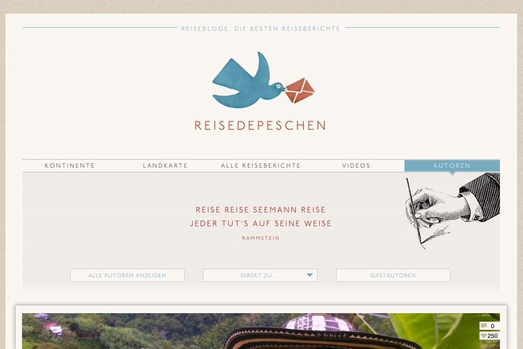 Inspirierende Reiseblogs – Reisedepeschen | SOMEWHERE ELSE