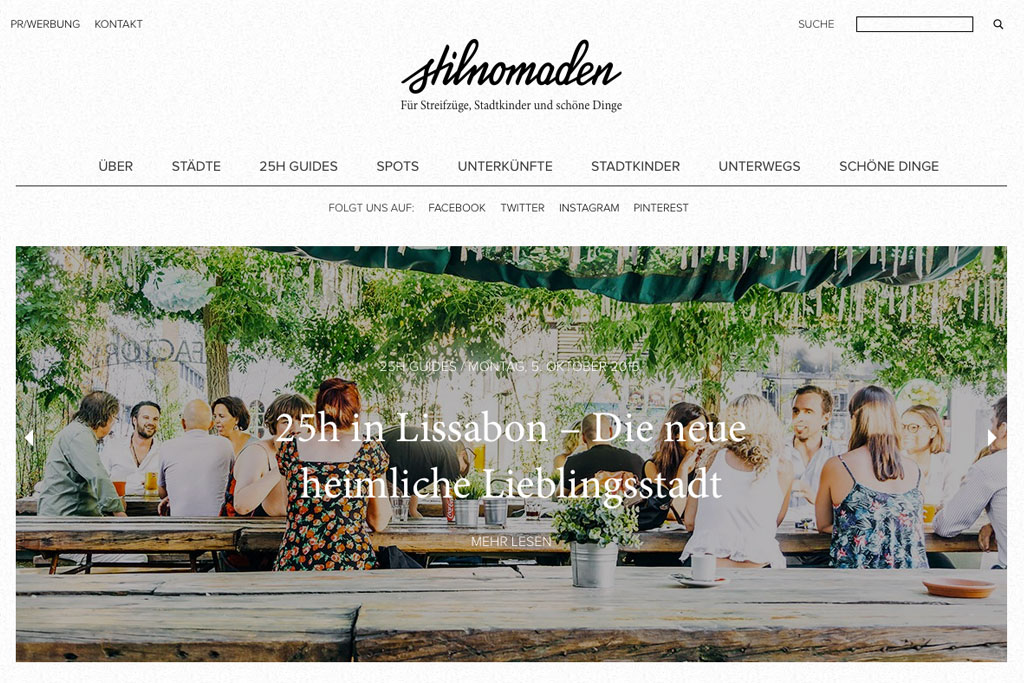 Inspirierende Reiseblogs – Stilnomaden | SOMEWHERE ELSE