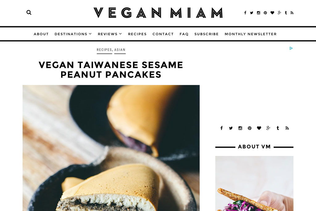 Inspirierende Reiseblogs – Vegan Miam | SOMEWHERE ELSE
