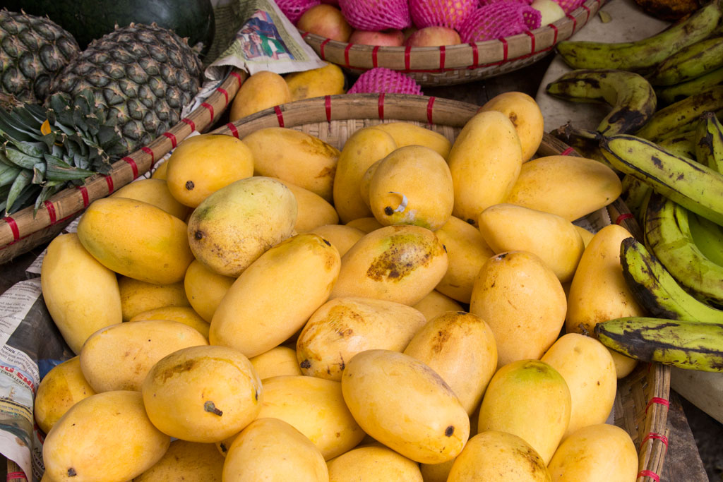 Märkte auf den Philippinen – Mangos in Moalboal auf Cebu | SOMEWHERE ELSE