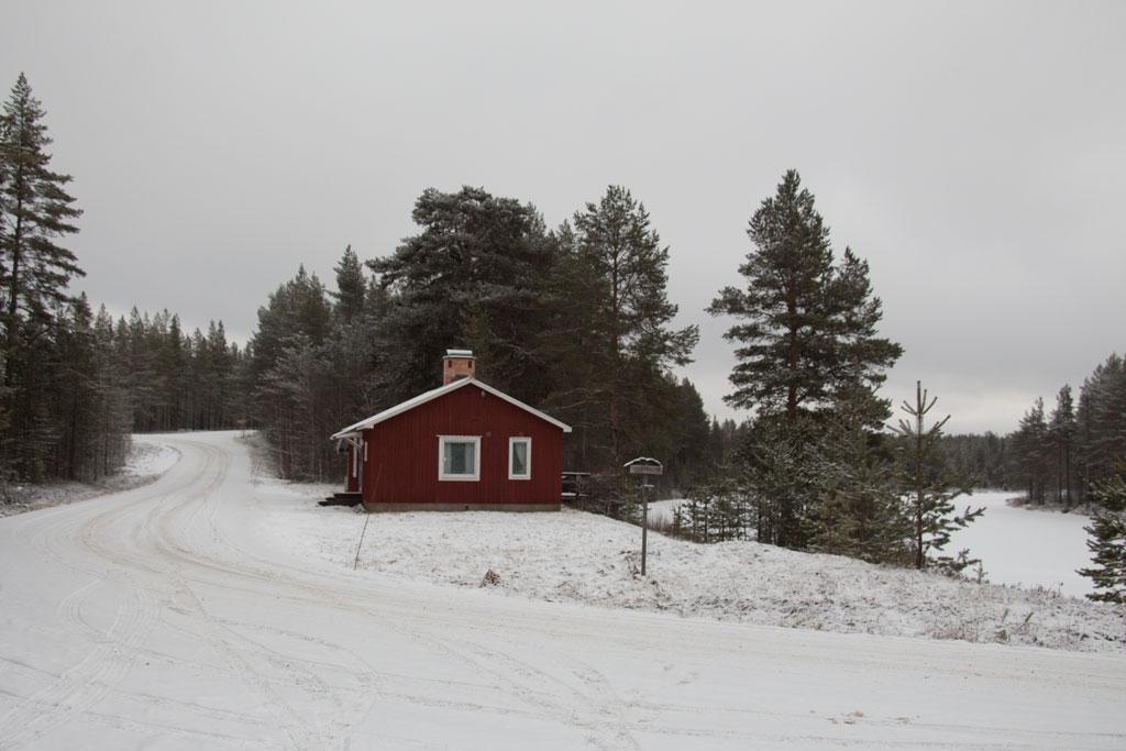 Mit Schlittenhunden durch Schwedens Winterlandschaft – Schwedenhütte am Startpunkt | SOMEWHERE ELSE
