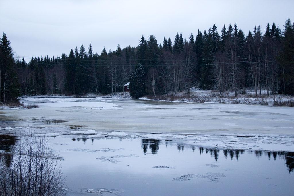 Mit Schlittenhunden durch Schwedens Winterlandschaft – Am fast zugefrorenen Fluss| SOMEWHERE ELSE