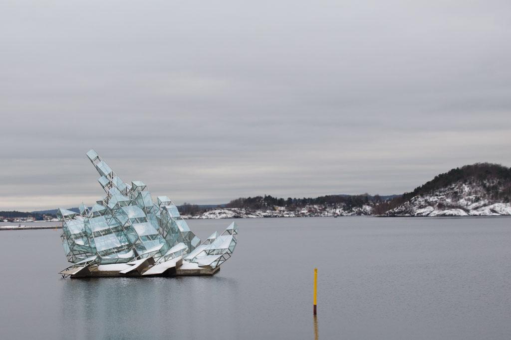 Winter in Oslo – Oper Eisscholle | SOMEWHERE ELSE