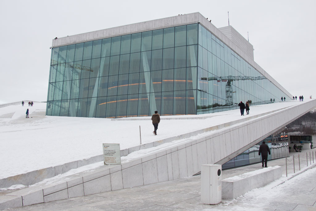 Winter in Oslo – Oper | SOMEWHERE ELSE