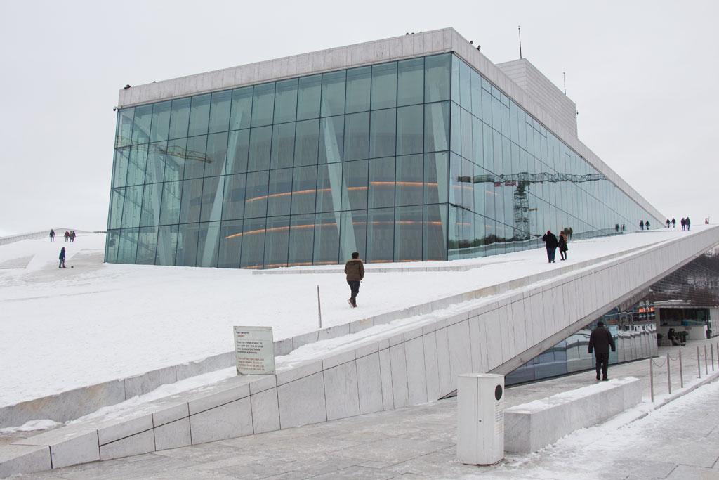 Winter in Oslo – Oper | SOMEWHERE ELSE
