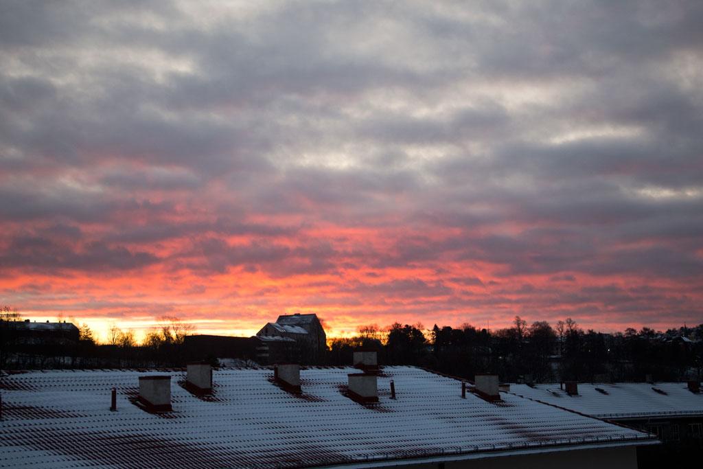Winter in Oslo – Sonnenaufgang | SOMEWHERE ELSE