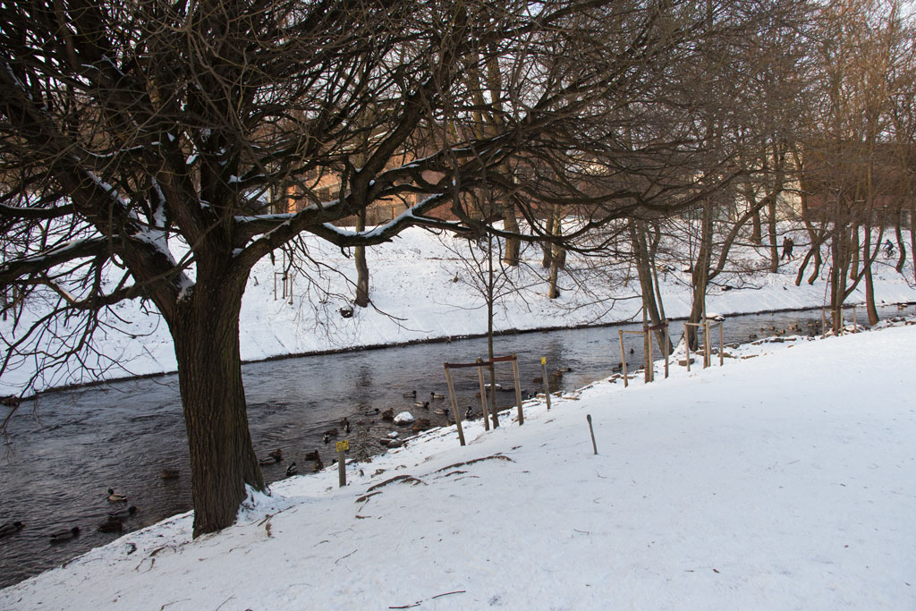 Winter in Oslo – Stadtspaziergang am Akerselva | SOMEWHERE ELSE