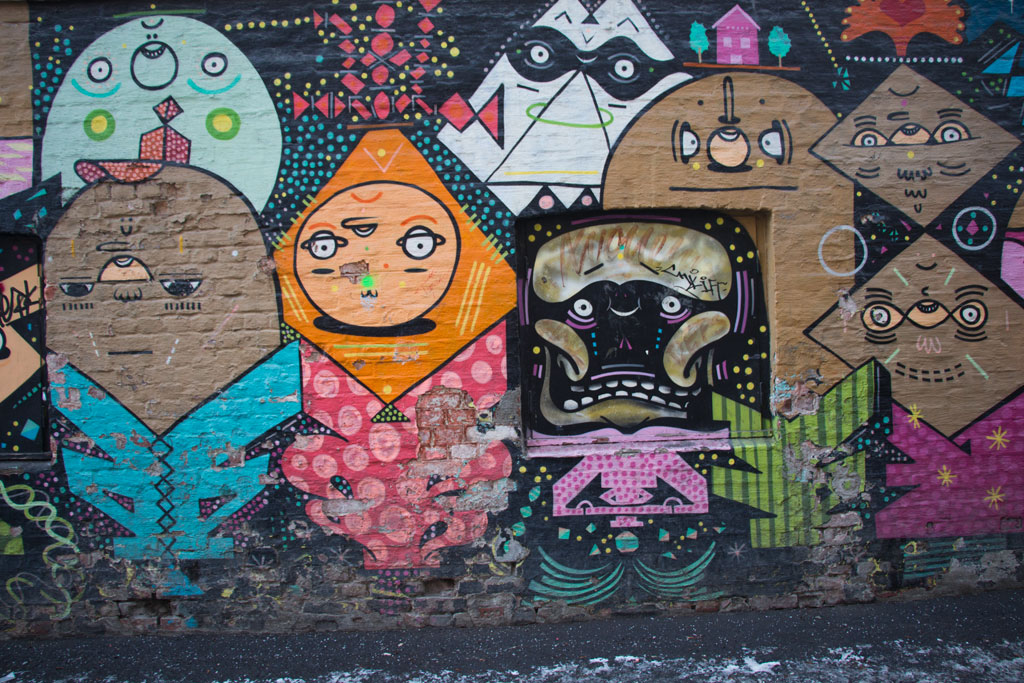 Winter in Oslo – Vulkan Graffiti | SOMEWHERE ELSE