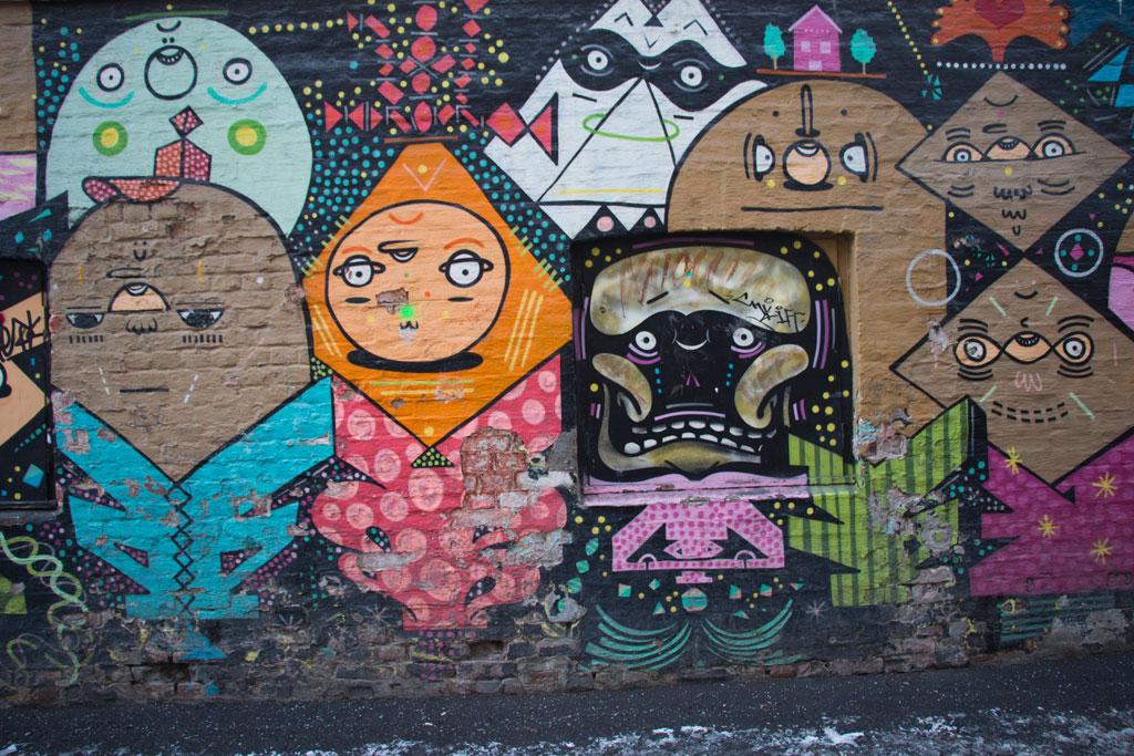 Winter in Oslo – Vulkan Graffiti | SOMEWHERE ELSE
