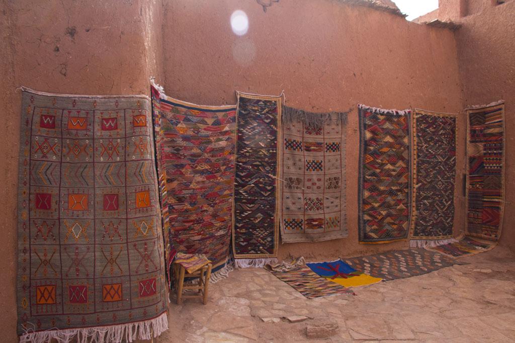 Marokko Trip –Ait Ben Haddou – Altstadt Teppiche |SOMEWHERE ELSE