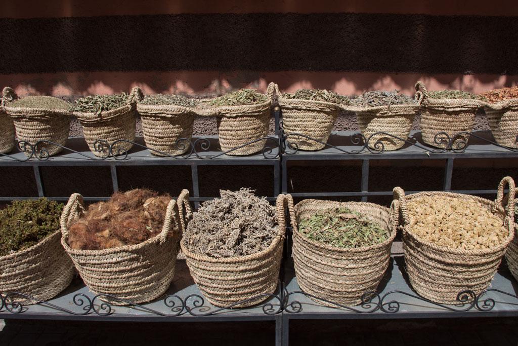 Marokko Trip –Marrakesch –Kräuter in den Souks |SOMEWHERE ELSE