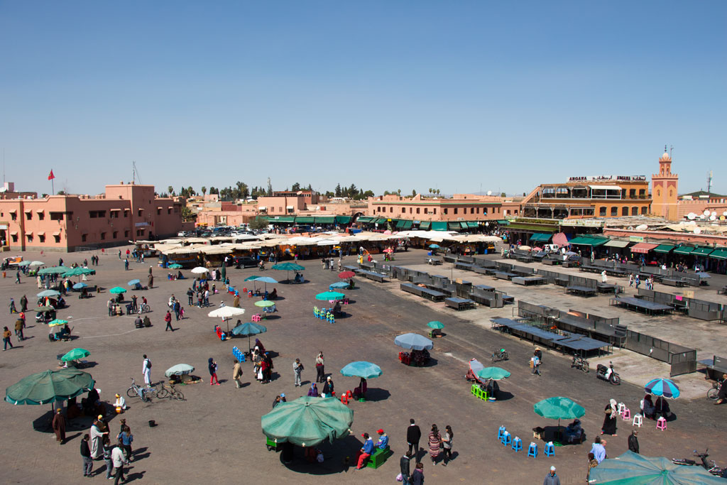 Marokko Trip – Marrakesch – Marktplatz Djemaa el Fna | SOMEWHERE ELSE