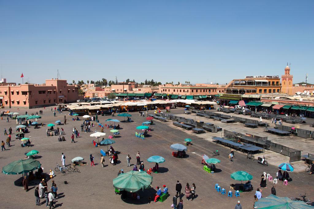 Marokko Trip –Marrakesch –Marktplatz Djemaa el Fna |SOMEWHERE ELSE