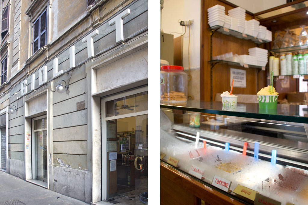 Italienisches Eis – Gelateria Giolitti Eisdiele in Testaccio| SOMEWHERE ELSE