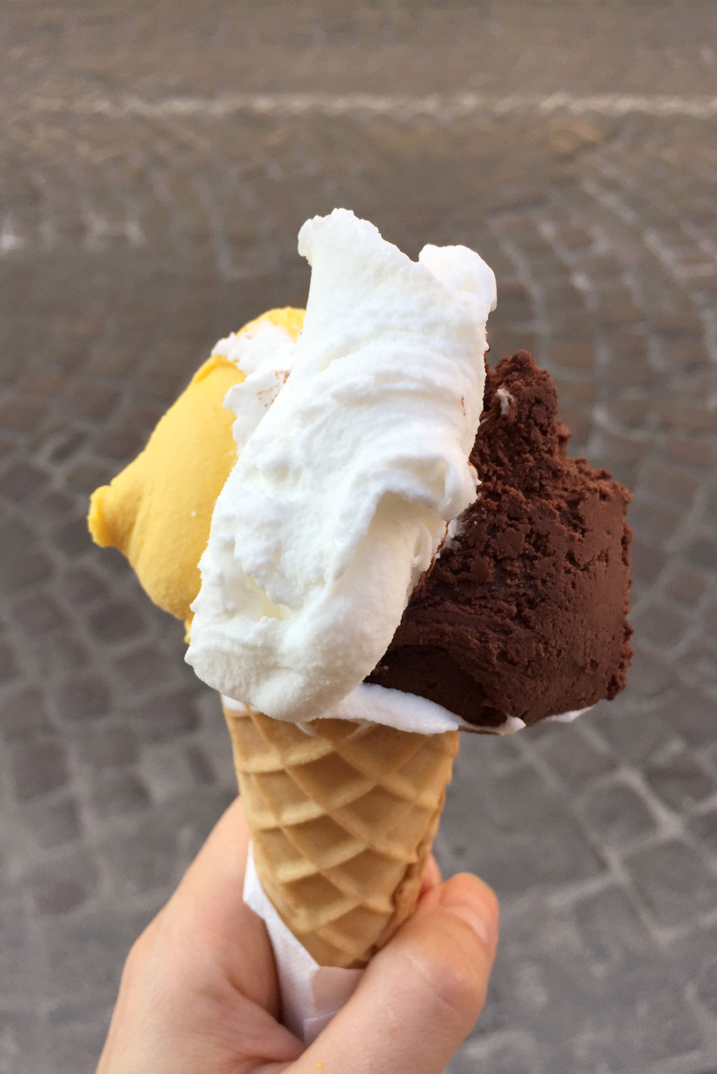 Italienisches Eis – Wonderful Icecream – Eissorten Mango Zitrone Schokolade| SOMEWHERE ELSE
