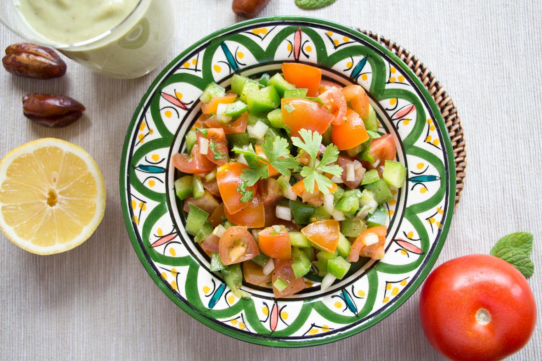 Marokkanische Gerichte – Marokkanischer Salat Rezept | SOMEWHERE ELSE