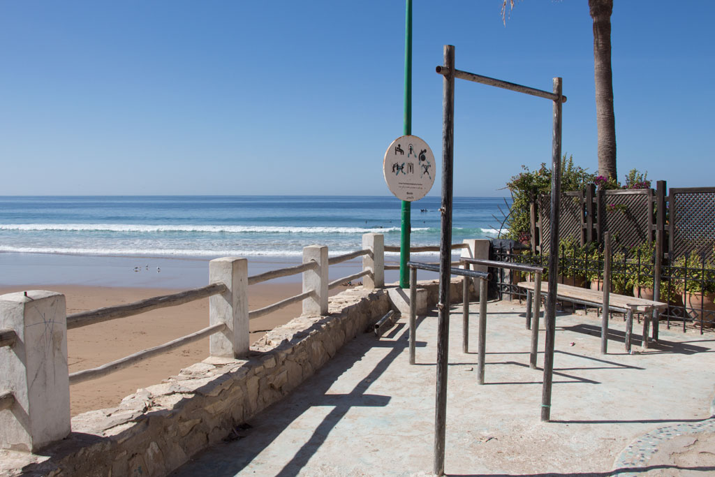 Taghazout Surfen – Outdoore Gym mit Meerblick | SOMEWHERE ELSE