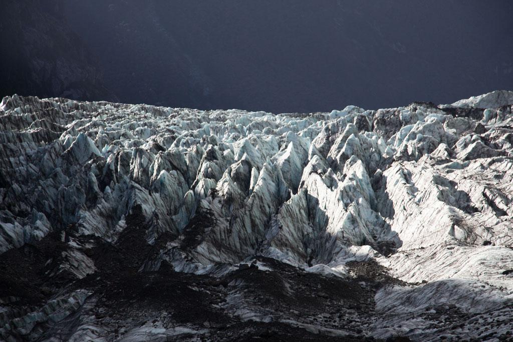 Neuseeland Südinsel Landschaften – Fox Glacier Gletschereis | SOMEWHERE ELSE