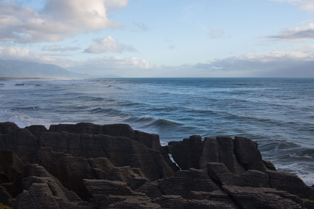 Neuseeland Südinsel Landschaften – Pancake Rocks Meerblick | SOMEWHERE ELSE