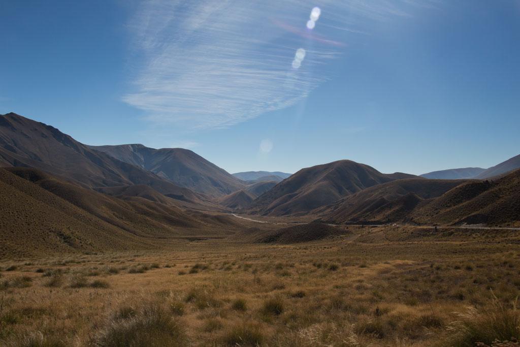 Neuseeland Südinsel Landschaften – Die Southern Alpes im Sonnenlicht | SOMEWHERE ELSE