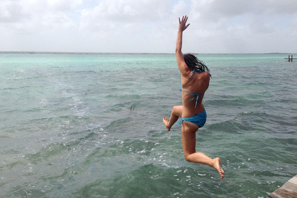 Reiseerfahrungen Komfortzone verlassen – Sprung in See in Mexiko | SOMEWHERE ELSE