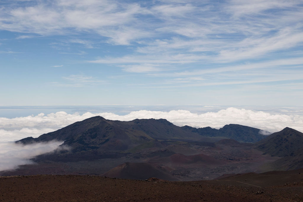 Maui Hawaii – Krater des Haeakala Vulkans | SOMEWHERE ELSE