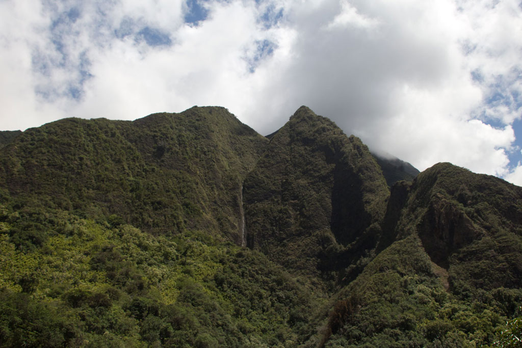 Maui Hawaii – Berge von Dschungel bewachsen im Iao Valley State Park | SOMEWHERE ELSE